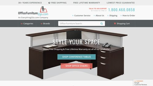 Officefurniture2go.com Coupon Codes, Deals & Promotions
