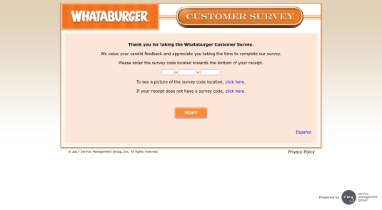 WhatABurgerSurvey.com
