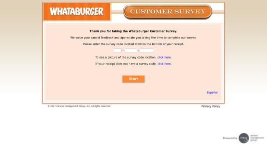 WhatABurgerSurvey.com