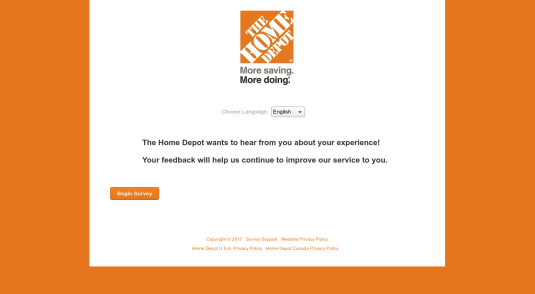 homedepotsurvey